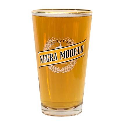 Negra Modelo Cerveza Pint Glass