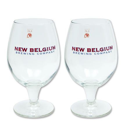 New Belgium Glasses Set of Two