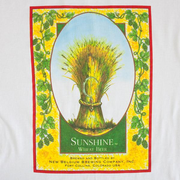 Sunshine Wheat New Belgium Tee - White
