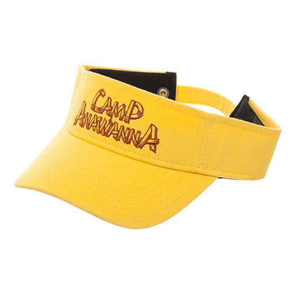Nickelodeon Salute Your Shorts Camp Anawana Logo Yellow Visor