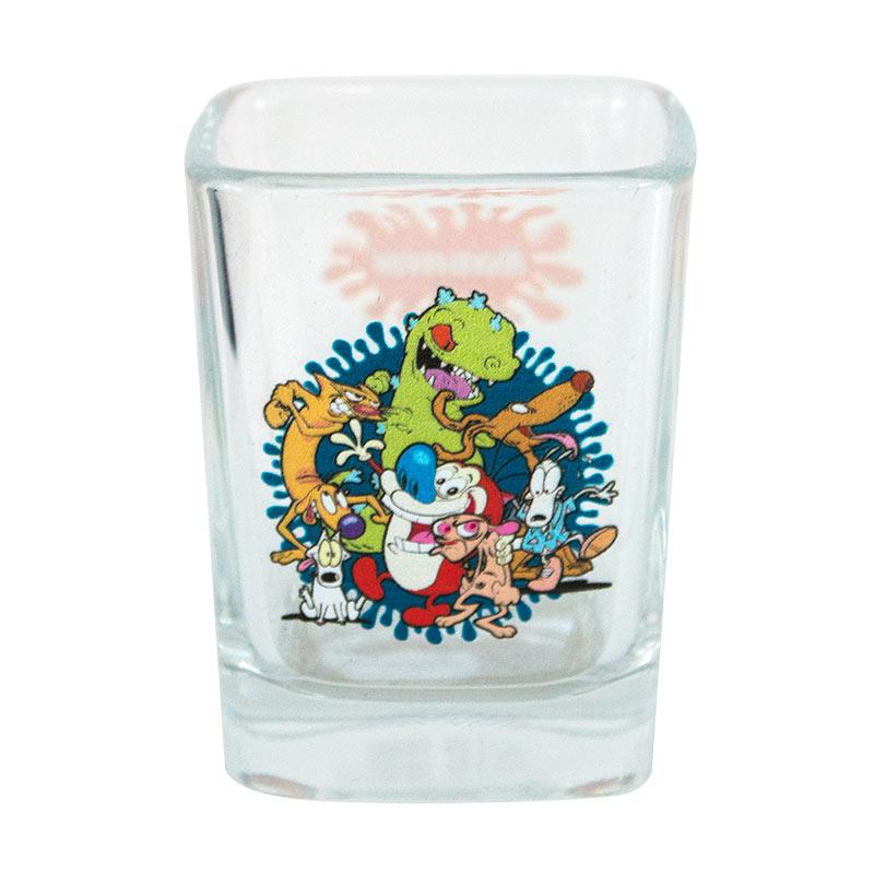 Nickelodeon 90's Character Square Shot Glass