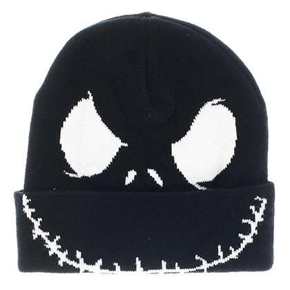 Nightmare Before Christmas Black Jack Winter Beanie