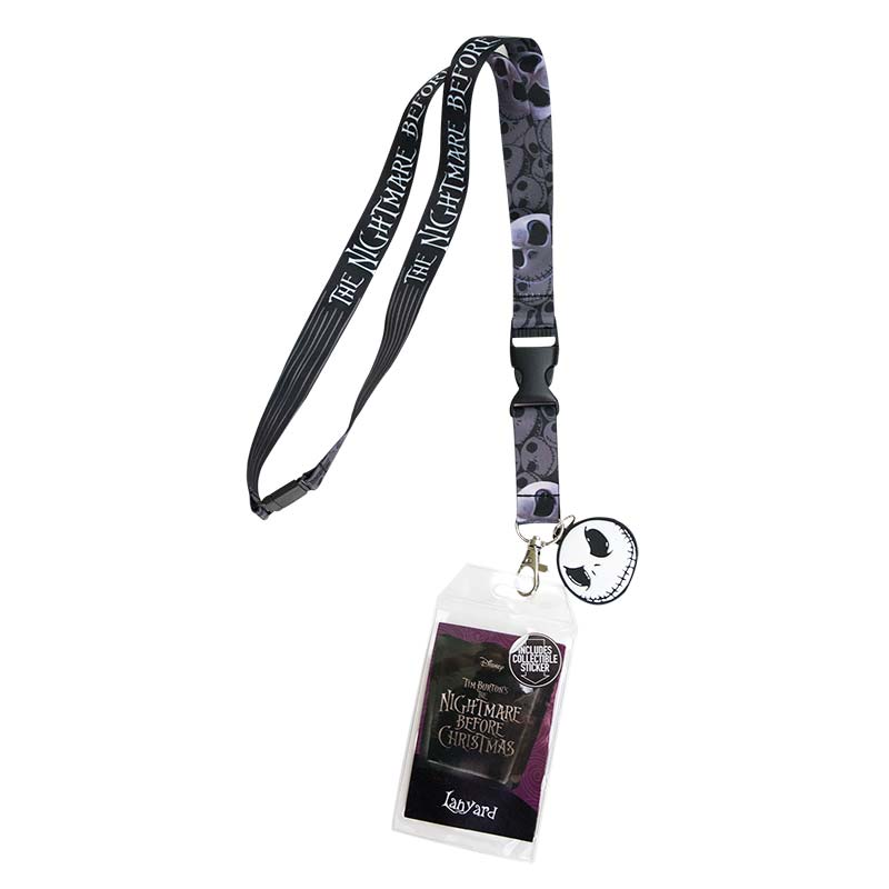 Nightmare Before Christmas Keychain Lanyard