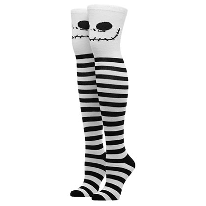 Nightmare Before Christmas Jack Knee High Socks
