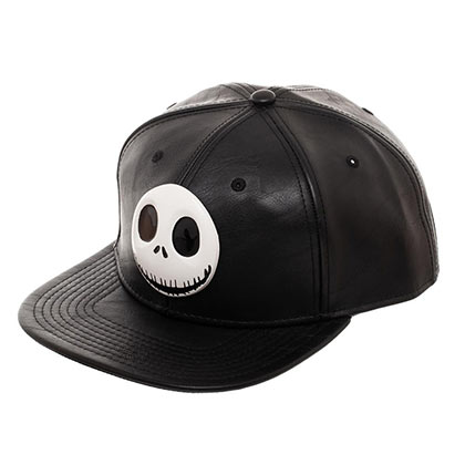 Nightmare Before Christmas Black Metal Jack Hat