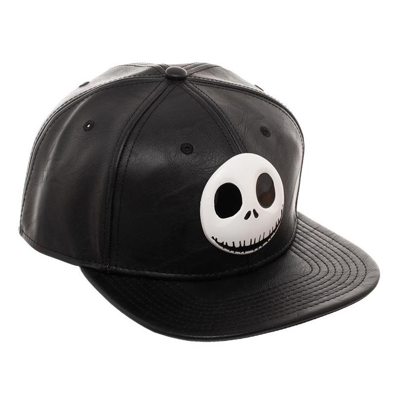 Nightmare Before Christmas Black Metal Jack Hat  7cc4934fbc64