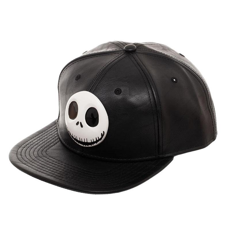 Nightmare Before Christmas Metal Black Snapback Hat 51791c3aebb0