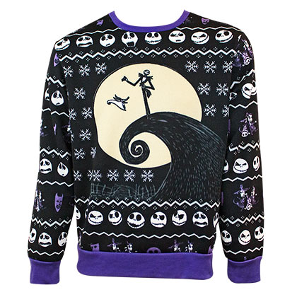 Nightmare Before Christmas Holiday Ugly Sweater