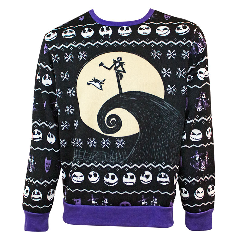 Nightmare Before Christmas Holiday Ugly Sweater Tvmoviedepotcom
