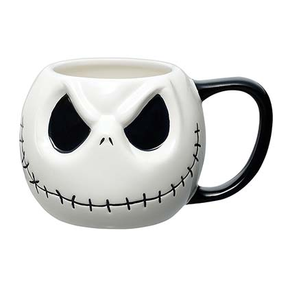Nightmare Before Christmas White Jack Mug