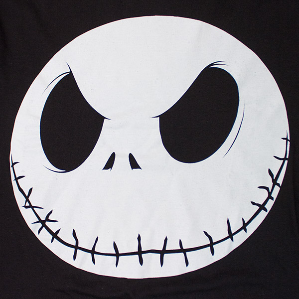 The Nightmare Before Christmas Jack Jumbo Face T-Shirt ...