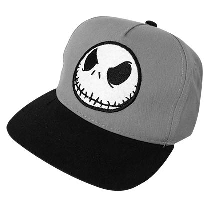 Disney Nightmare Before Christmas Jack Gray Youth Hat