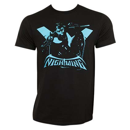 Nightwing Silhouette Tee Shirt