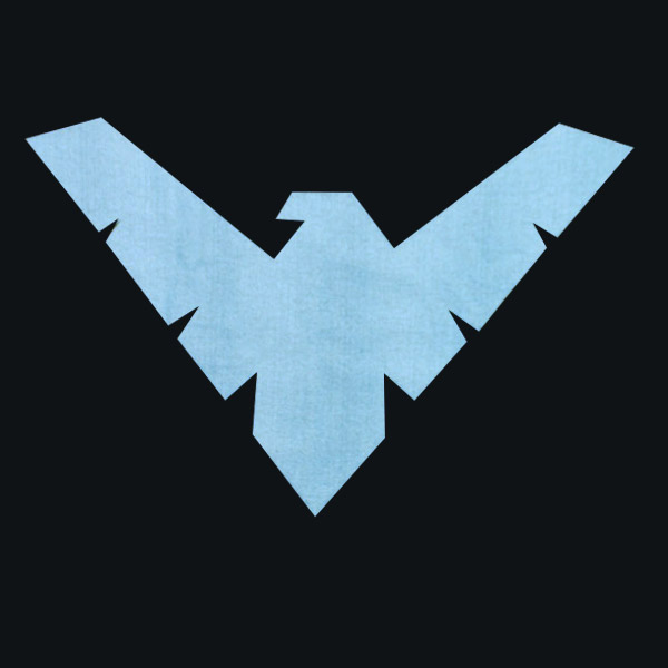 Nightwing Logo T-Shirt - Black