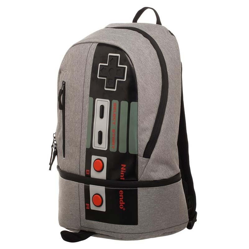 Nintendo Controller Classic NES Bottom Zip Backpack