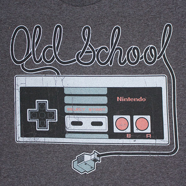 Nintendo Men's Old School Controller Tee Shirt