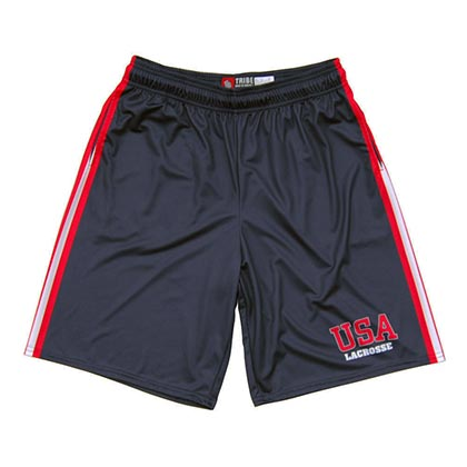 USA Lacrosse Men's Sublimated Shorts