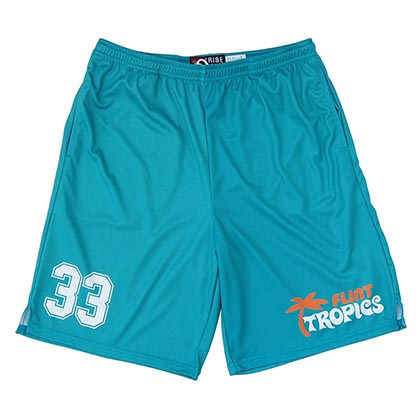 Flint Tropics #33 Sublimated Lacrosse Shorts