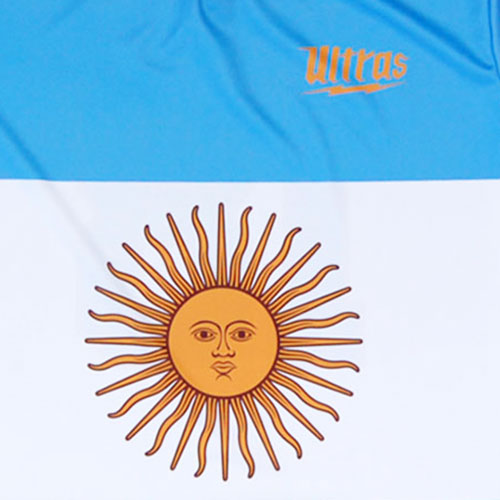 FIFA Argentina Sublimated Sun Logo Soccer Jersey
