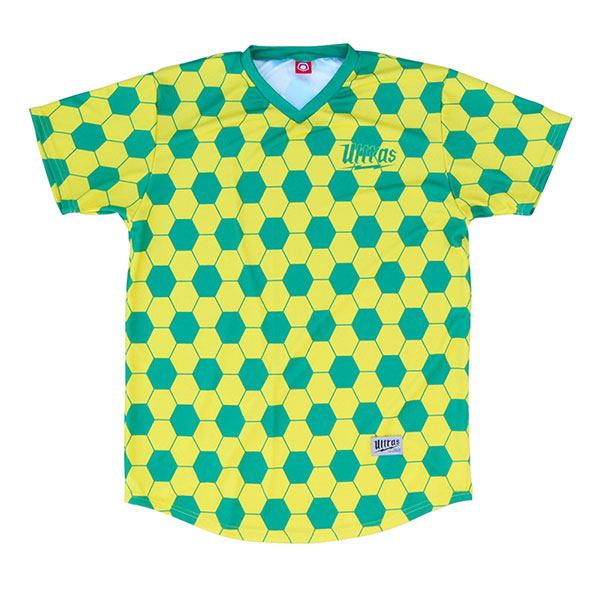 0205a400c0b FIFA Brazil Sublimated Green And Yellow Soccer Jersey