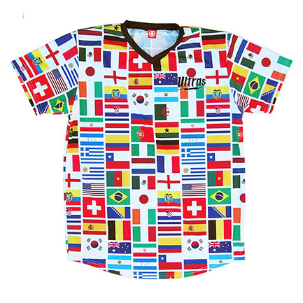 FIFA Sublimated Team Flags Soccer Jersey