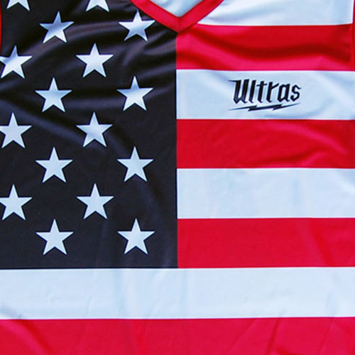 FIFA USA Sublimated Flag Logo Soccer Jersey