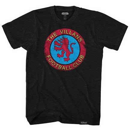 Aston Villa F.C. Villans Soccer Tee Shirt