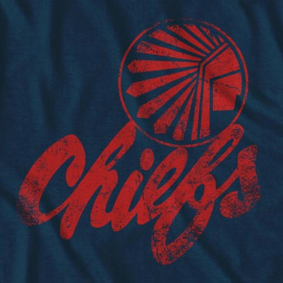 Vintage Atlanta Chiefs Men's Soccer Team T-Shirt