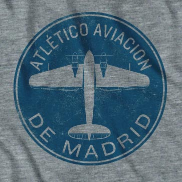 Men's Atletico Madrid Football Club Plane T-Shirt