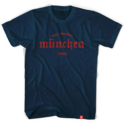 Men's Blue Bayern Munich Die Roten Blue T-Shirt