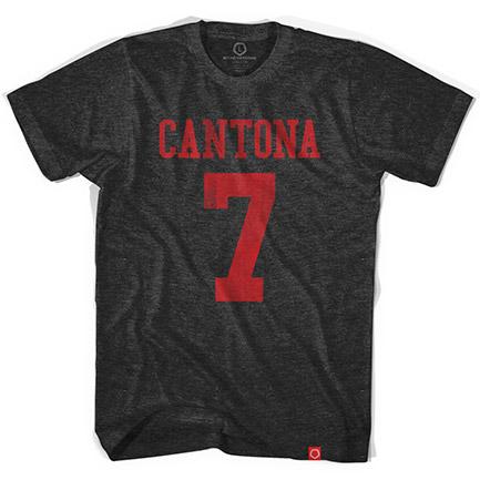 Eric Cantona No. 7 Soccer Jersey Tee Shirt