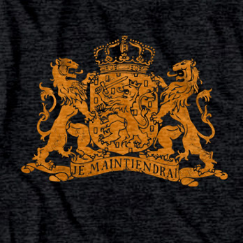 Holland Coat of Arms Lion Tee Shirt
