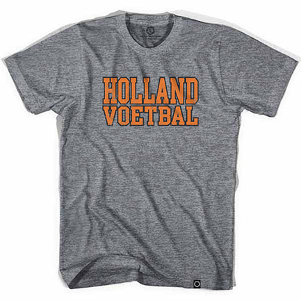 Men's Holland Voetbal Vintage Tee Shirt