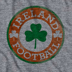 Ireland Football Clover Crest T-Shirt