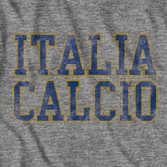 Retro Men's Italia Calcio T-Shirt