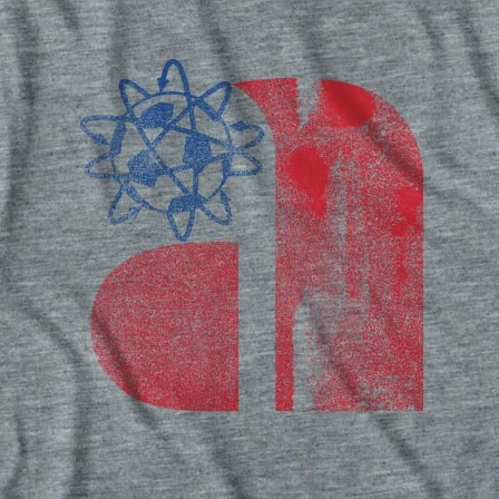 Retro Philadelphia Atoms Soccer T-Shirt