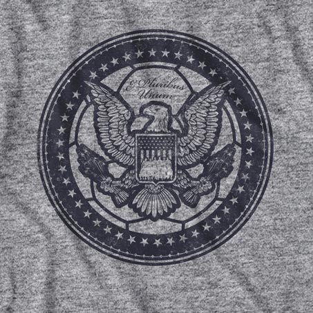 United States of America Grey Eagle Tee Shirt