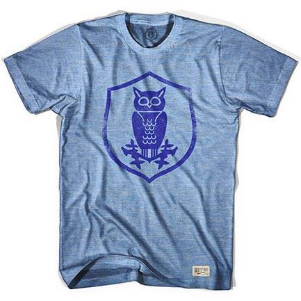 Men's Sheffield Wednesday Owl Crest Blue T-Shirt