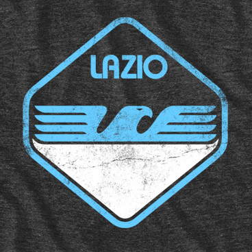 Men's S.S. Lazio Eagle 80s Vintage Tee Shirt