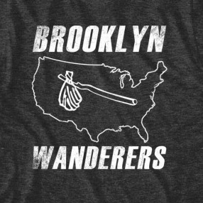 Men's Black Brooklyn Wanderers Soccer T-Shirt