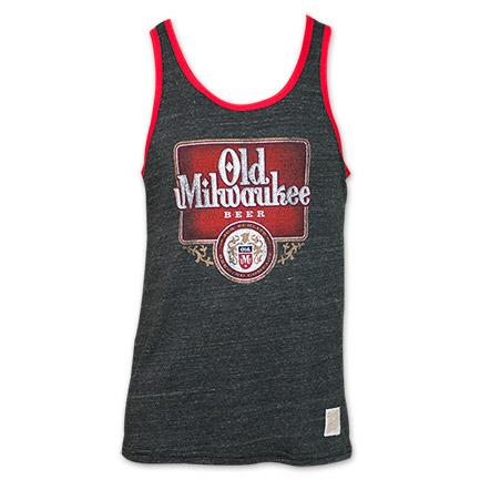 Old Milwaukee Beer Vintage Men's Tank Top