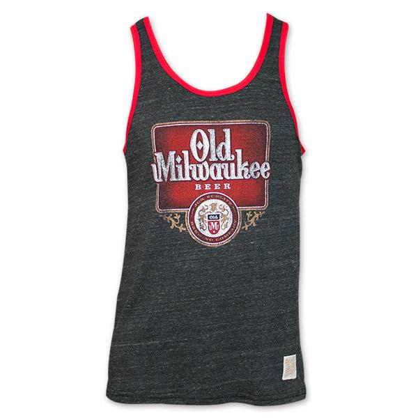 Old Milwaukee Beer Vintage Men s Tank Top b9567aca4