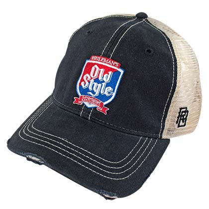 Old Style Shield Retro Brand Premium Men's Trucker Hat