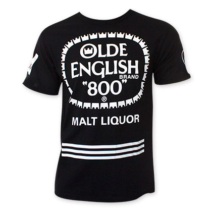 Olde English Stripe Logo Tee Shirt