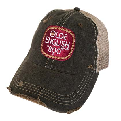 Olde English 800 Retro Brand Brown Men's Trucker Hat