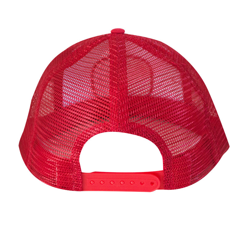 Olde English Red Mesh Trucker Hat