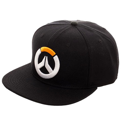 Overwatch Logo Black Snapback Hat