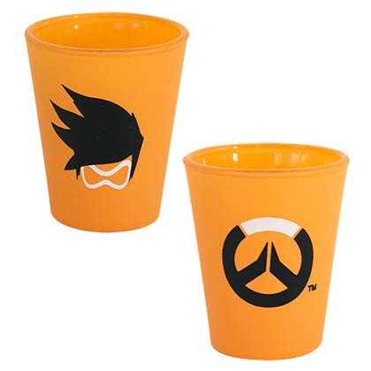 Overwatch Orange Tracer Shot Glass