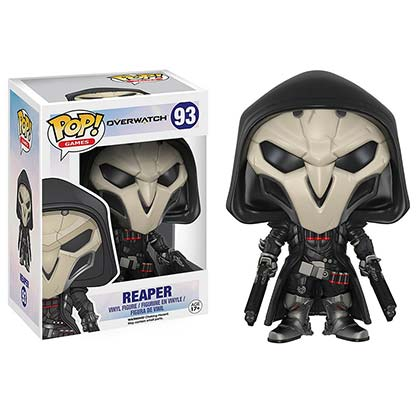 Funko Pop Vinyl Overwatch Reaper Figure