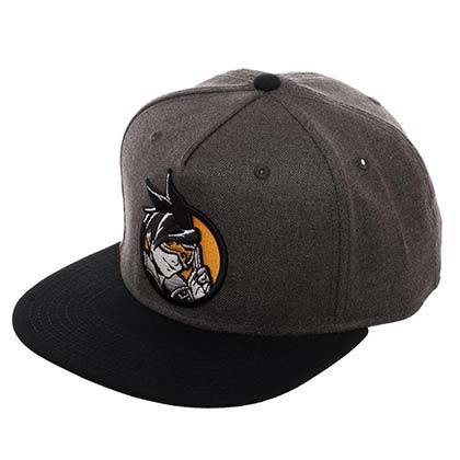 Overwatch Grey Tracer Snapback Hat